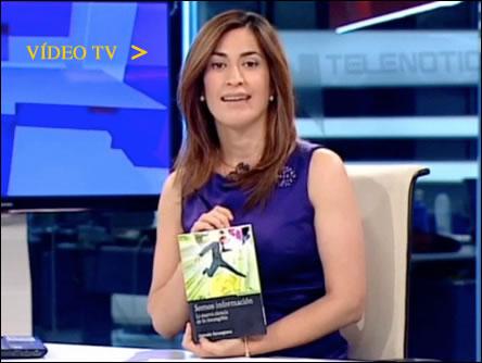Ana Samboal entrevista a Antxón Sarasqueta en Telemadrid